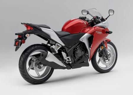 2011 Honda CBR250R Red Det04