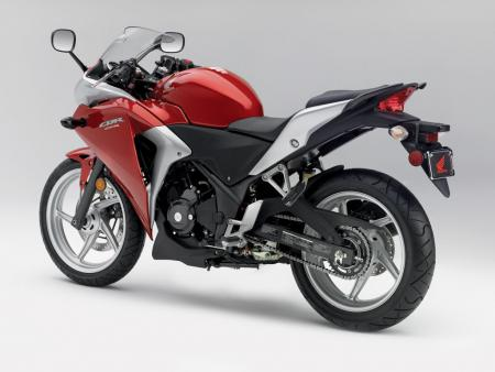 2011 Honda CBR250R Red Det05