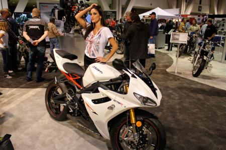 Triumph Daytona 675R Long Beach IMS