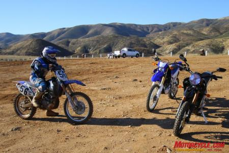 Yamaha WR250R vs. Zero DS