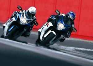 Suzuki GSX-R600 and GSX-R750
