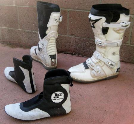 Alpinestars Tech 8 Boots Booties2