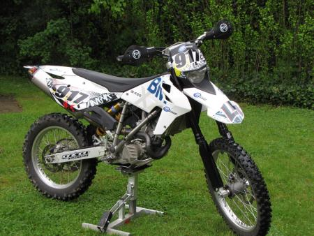 2011 Husqvarna TE 449 Off-Road-BMW 7
