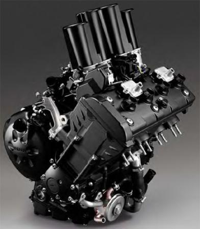 2011 Yamaha FZ8 Static Engine