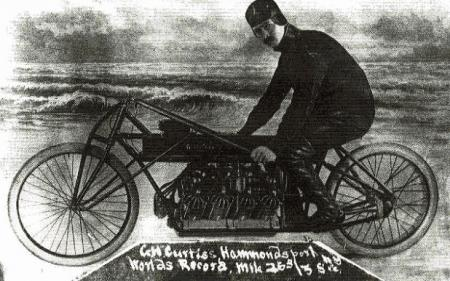 Motorcycle History Curtiss Record