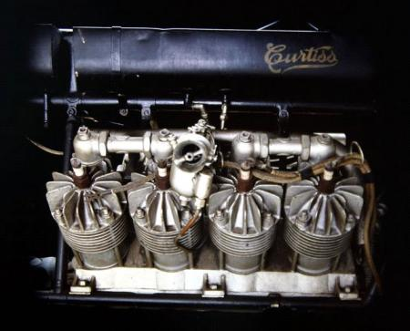 Motorcycle History Curtiss V8