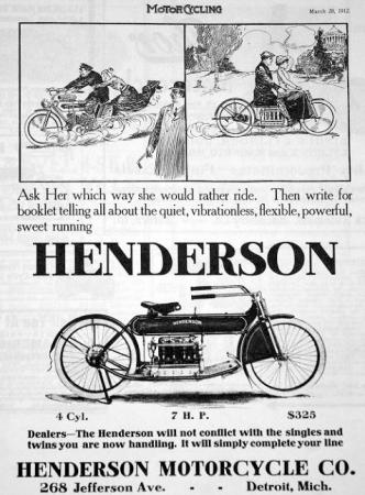 Motorcycle History Henderson