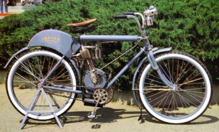Motorcycle History Indian Cambelback