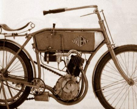 Motorcycle History Orient Aster