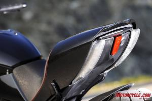2011 Ducati Diavel tail