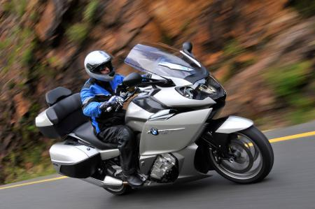 2012 bmw k1600gtl review - motorcycle