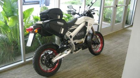 2011 Zero Motorcycles accessory bike