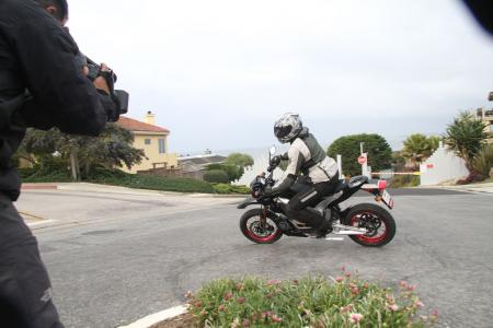 2011 Zero Motorcycles DS Cornering