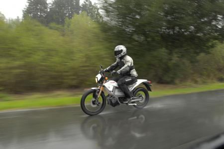 2011 Zero Motorcycles XU rain speed