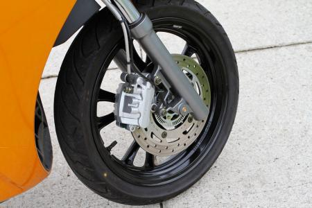 2012 Kymco People GTi Detail-02