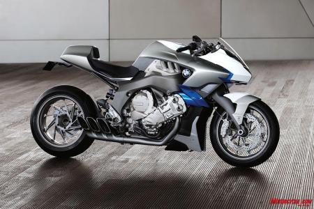 If Put Into Production BMWs Concept 6 Will Make A Terrific Halo Bike