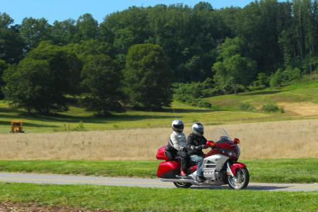 2012 Honda Gold Wing Review AN8E7907