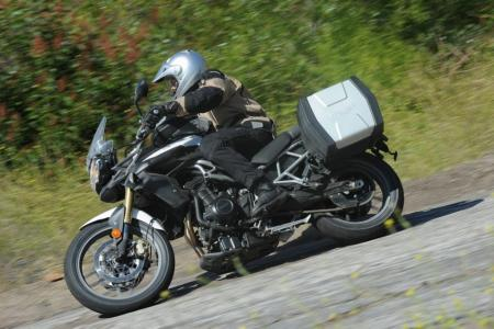 2011 Triumph Tiger 800 XC Action Road