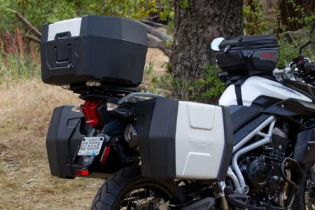 2011 Triumph Tiger 800 XC Luggage