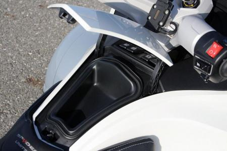 2011 Can-Am Spyder RT Glovebox