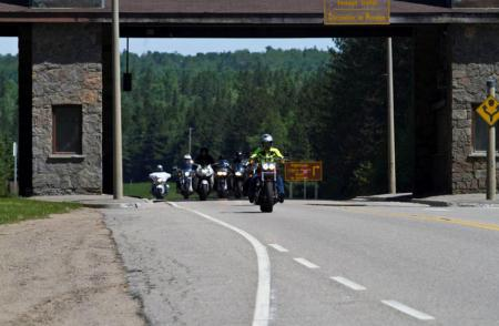 Women Riders Tour in Northern Ontario