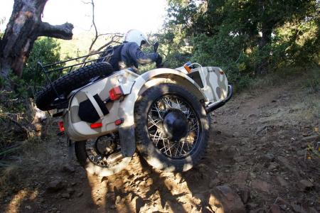 2011 ural gear up sidecar review video for Motor cycle without gear