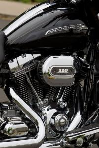 All 2012 CVO models get the Screamin' Eagle Twin Cam 110 powertrain.