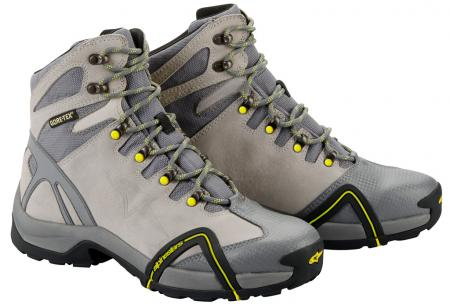 Alpinestars CR-4 Gore-Tex gray-yellow