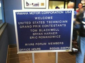 2011 Yamaha R1/R6 Forum Convention at Deals Gap