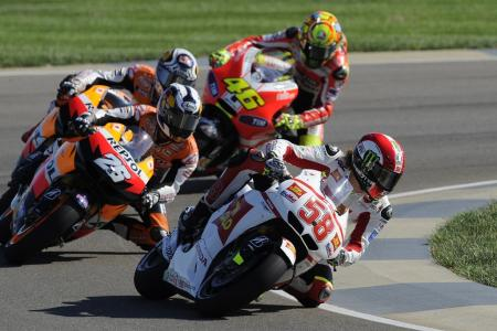 Valentino Rossi and Ducati have a long way to go before they can begin challenging the Hondas.