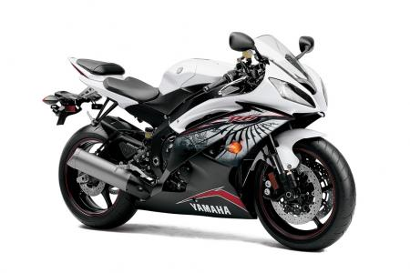 2012 Yamaha YZF-R6 Red-White