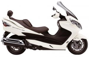 2011 suzuki burgman 400 abs review - motorcycle