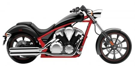 There's no mistaking the 2012 Fury with its new red frame in its black body color. Other colors include blue and black, both with matching frame and bodywork colors.