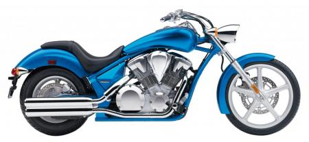 The 2012 Honda Sabre flaunts an affordable price and a warranty for a bike with a very customized appearance.