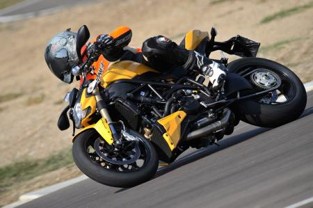 2012 Ducati 848 Streetfighter Action2