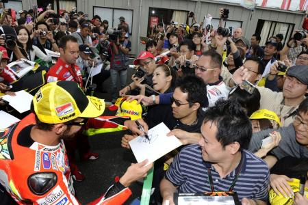 The riders had many different motivations for doing well at Motegi. Racing for the fans was a common motivator for all.