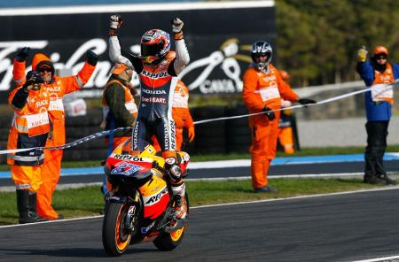 Casey Stoner, 2011 MotoGP World Champion. Photo by GEPA Pictures.