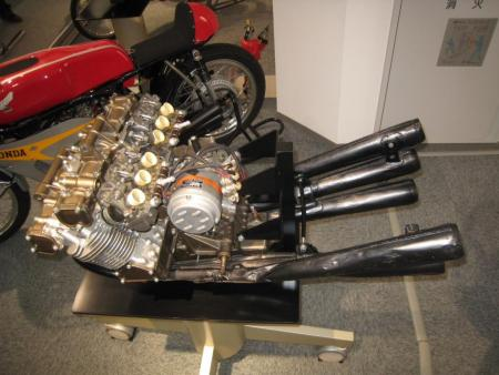 Honda RC166 Engine