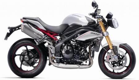2012 Triumph Street Triple R Side