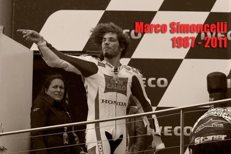 Marco Simoncelli: January 20, 1987 – October 23, 1011.