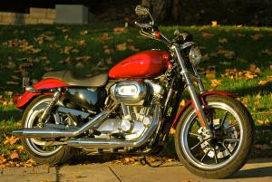 2012 Harley-Davidson Sportster SuperLow Right Side