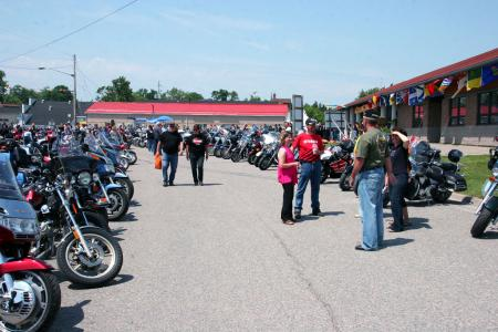 Bikers Reunion in New Liskeard