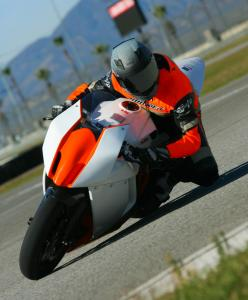 2012 KTM RC8 Race Spec