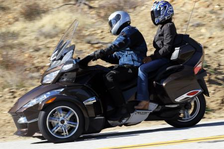 2012 Can-Am Spyder RT luxury tourer