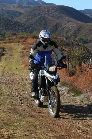2012 BMW G650GS Sertao Action dirt