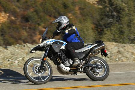 2012 BMW G650GS Sertao Action left1