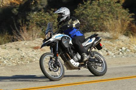 2012 BMW G650GS Sertao Action left2