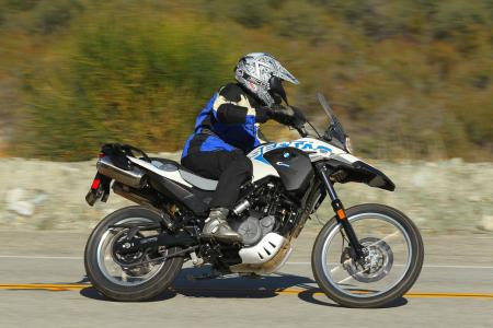 2012 BMW G650GS Sertao Action right1