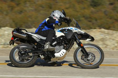 2012 BMW G650GS Sertao Action right