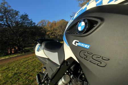 2012 BMW G650GS Sertao badge